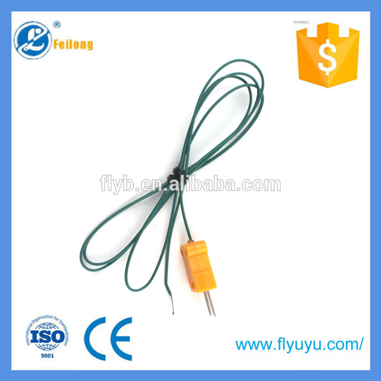 temperature sensor rapid response expendable thermocouple 7mm ptfe tubing