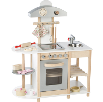 New Design Children Wooden Toy Kitchen Set Best Wooden Kids Play Kitchen Set  Funny
