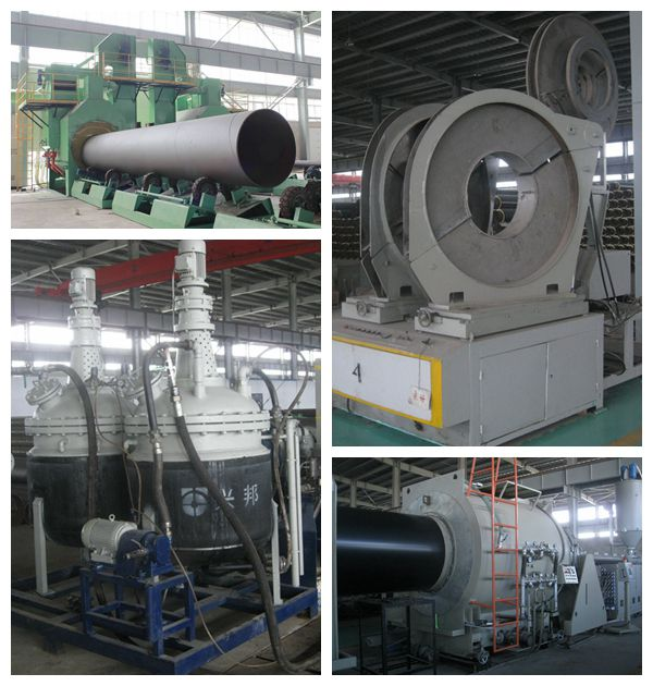 antistatic 3 inch HDPE pipe