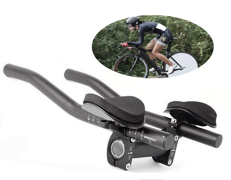 8248c46d09f Outdoor Recreation DRCK HROS TT Bars Bicycle Bike Handlebar Aluminum Alloy  Black Sponge Pad Rest Armrest for Mountain Road Bicycle Bike Handlebars ...