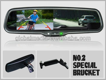 Smart Car Rear View Mirror With 4 3 Monitor Buy Rear View