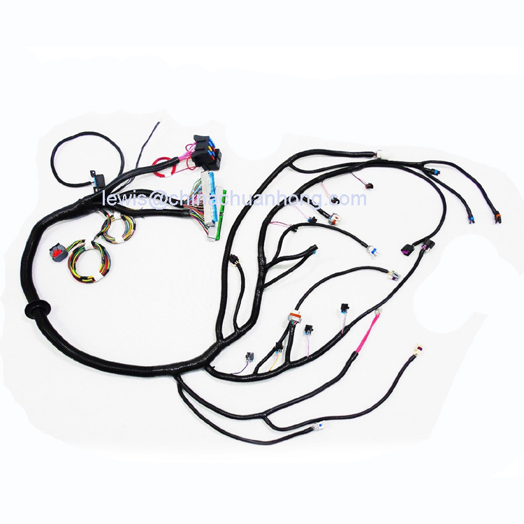 Gen3 Ls1 Standalone Wiring Harness Dbw With 4l80e For Gm 03 Up Gen