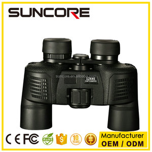 SUNCORE long range binoculars with Metal body and FMC optics glasses 12x45 binoculars loupes