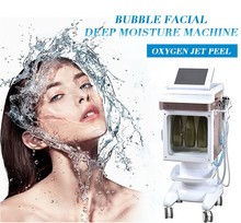 Ce Certificated Multifunction Dermabrasion+Ultrasonic+RF+Spray+Cold Hammer Skin Rejuvenation Equipment for Salon Use