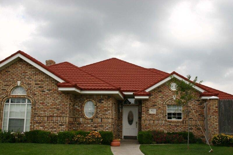 Solar Roof Tiles Stone Coated Metal Roof Tile For House