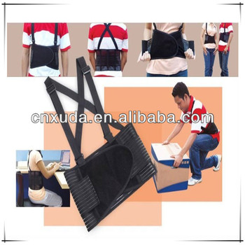 Lumbar Spine Posture Support Office Chair Back Brace Belt