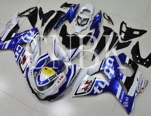 Motorcycle Fairing GSX R 1000 2009 - 2015 K9 White Blue Bodywork for Suzuki GSXR1000 2009 Fairing Kits GSXR 1000 2013