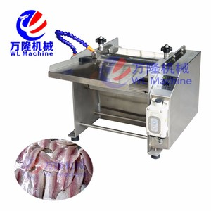 Wholesaling fish guts removing machine trout scraping scales machine