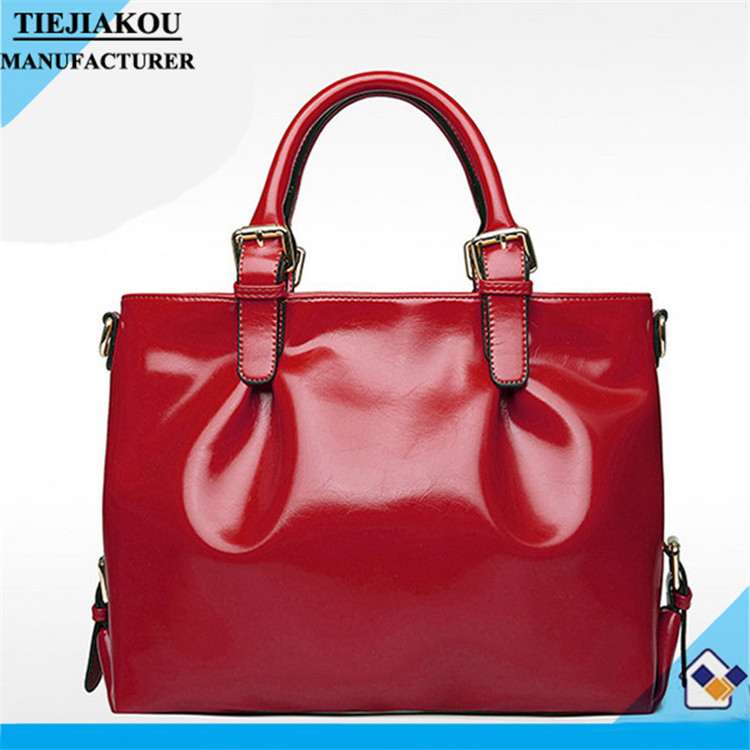 2015 authentic fashion lady designer hand bag design your own leather handbag The Most Popular Tote Colorful