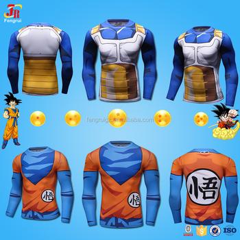 303d9a80 Cody Lundin Dragon Ball Z T Shirt, Dragon Ball Vegeta Goku Super Saiyan  Long Sleeve Fitness