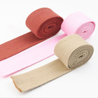 Heavy Duty 38 mm Wide Recycled Polyester Cotton Webbing for Bag Strap