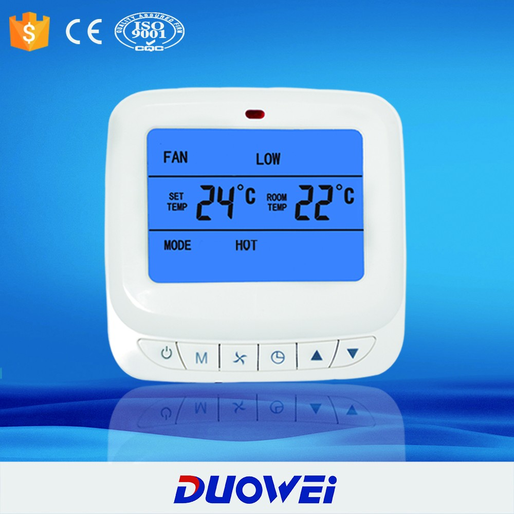 (DW-9K) LCD Intelligent FCU digital thermostat