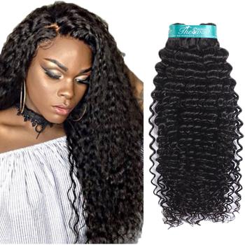 Extensiones de cabello rizado negro
