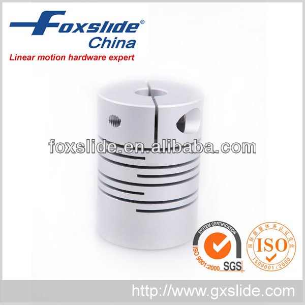 High quality line helical flexible shaft coupling
