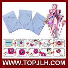 New TopJLH Wholesale cheap DIY sublimation balloon manufacturer