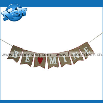 Romantic Marriage Proposal Banner Burlap Buy Marriage Proposal