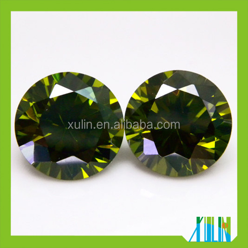 Wholesale Hot sale Cubic zirconia jewelry, round shape Cubic zirconia stone, Cubic zirconia