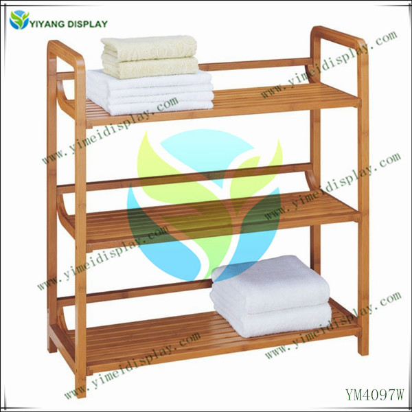Winsome Wood 4-Shelf Narrow Shelving Unit For Home Storage Retail Store Fixtures YM4107W
