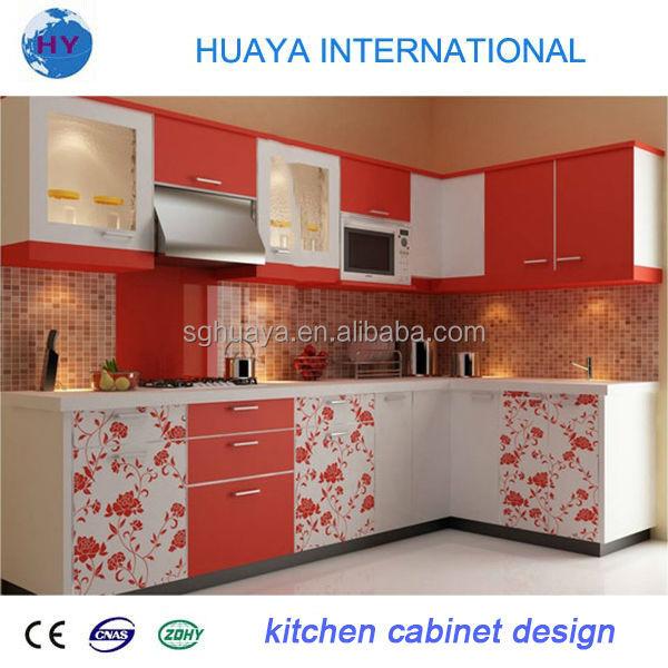 Witte kleur goedkoop laminaat landelijke stijl keuken kast keuken ...
