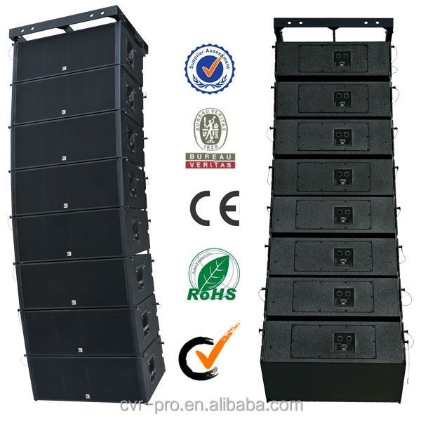 CVR audio+dual 12 inch+professional+outdoor line array+pa system
