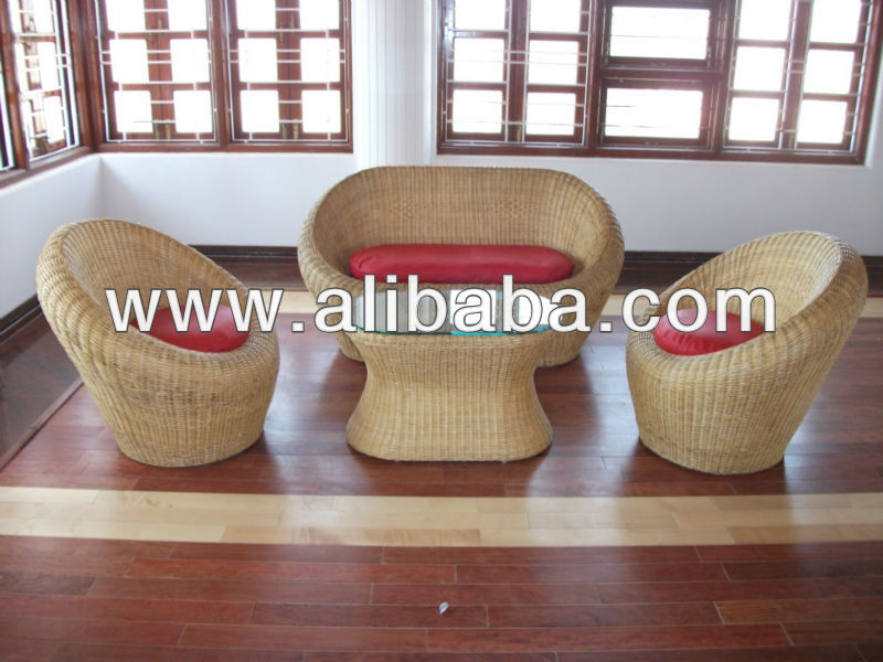 Bamboo Sofa Set Images
