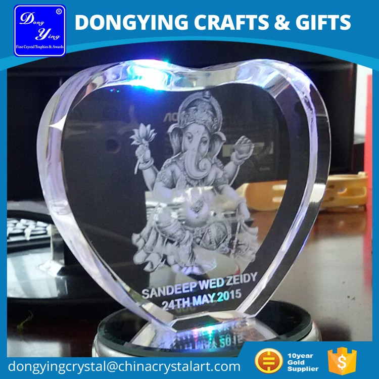 Pujiang Factory wholesale wedding give away crystal gift items