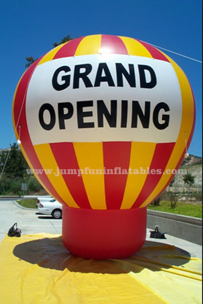 Grand Opening advertising balloon,Large inflatable balloon with advertisment for sale