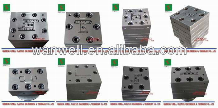 window frame UPVC Window Profile Plastic Extrusion Mould die maker