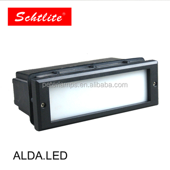 ALDA IP65 Aluminum 10W LED Garden Recessed Stair Wall Light Supplier