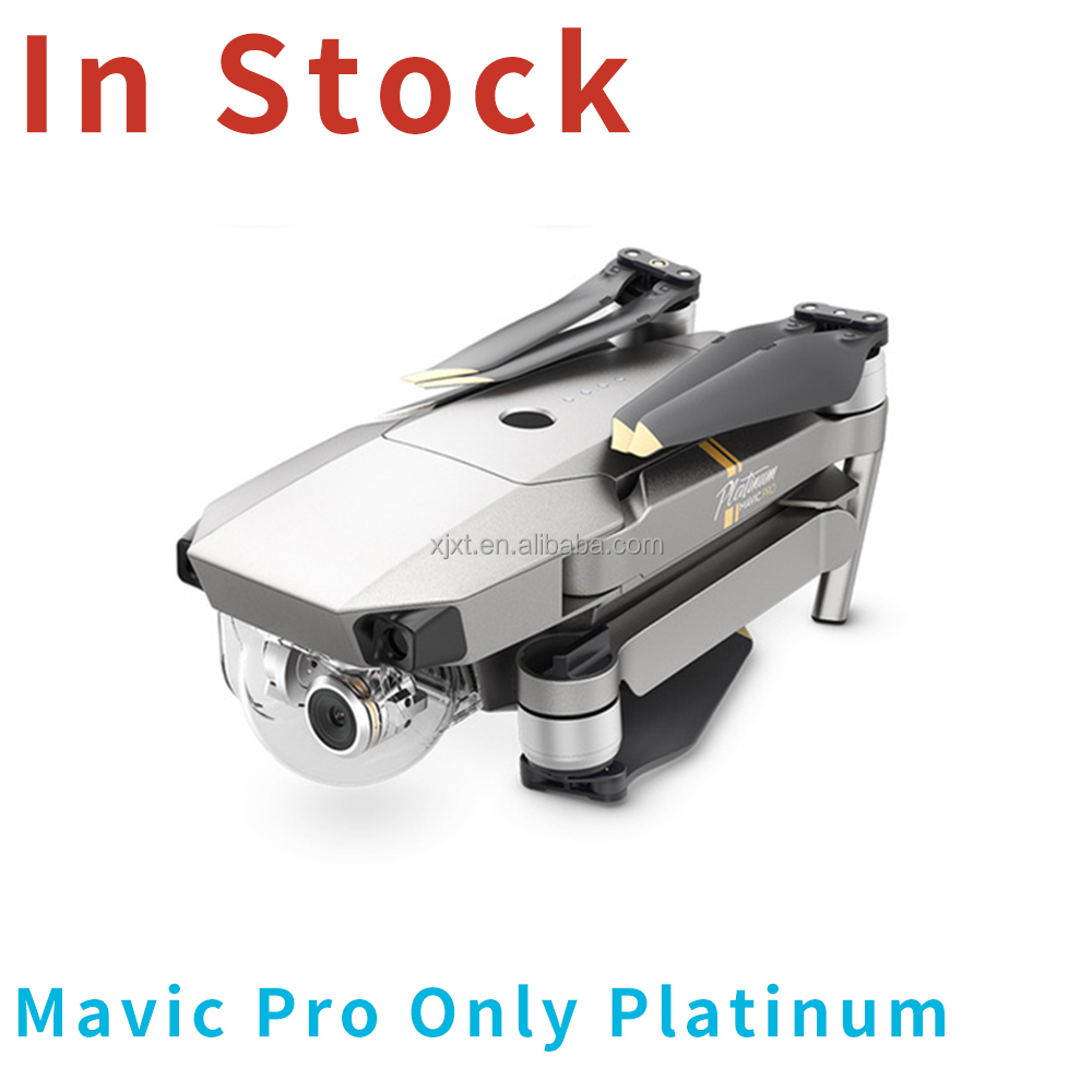 DJI Drone Mavic Pro Platinum Fly More combo Drones With 4K HD Camera and gps gyro 3-axis Gimbal Folding