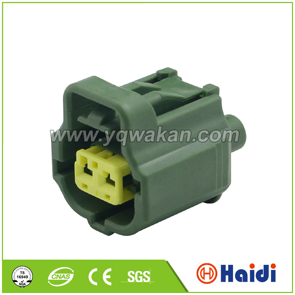 2P Green Toyota Coolant Temperature Sensor Connector 11062 10737