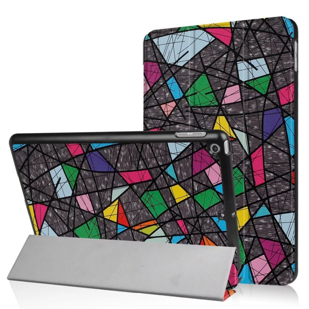 Stand design cartoon leather case for <strong>ipad</strong> pro 10.5 case