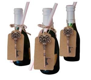 50 Wedding Favors Wedding Bottle Opener Wishes Wedding Favors for Guests  Wedding Favors Bottle Opener Rustic Vintage Key Bottle
