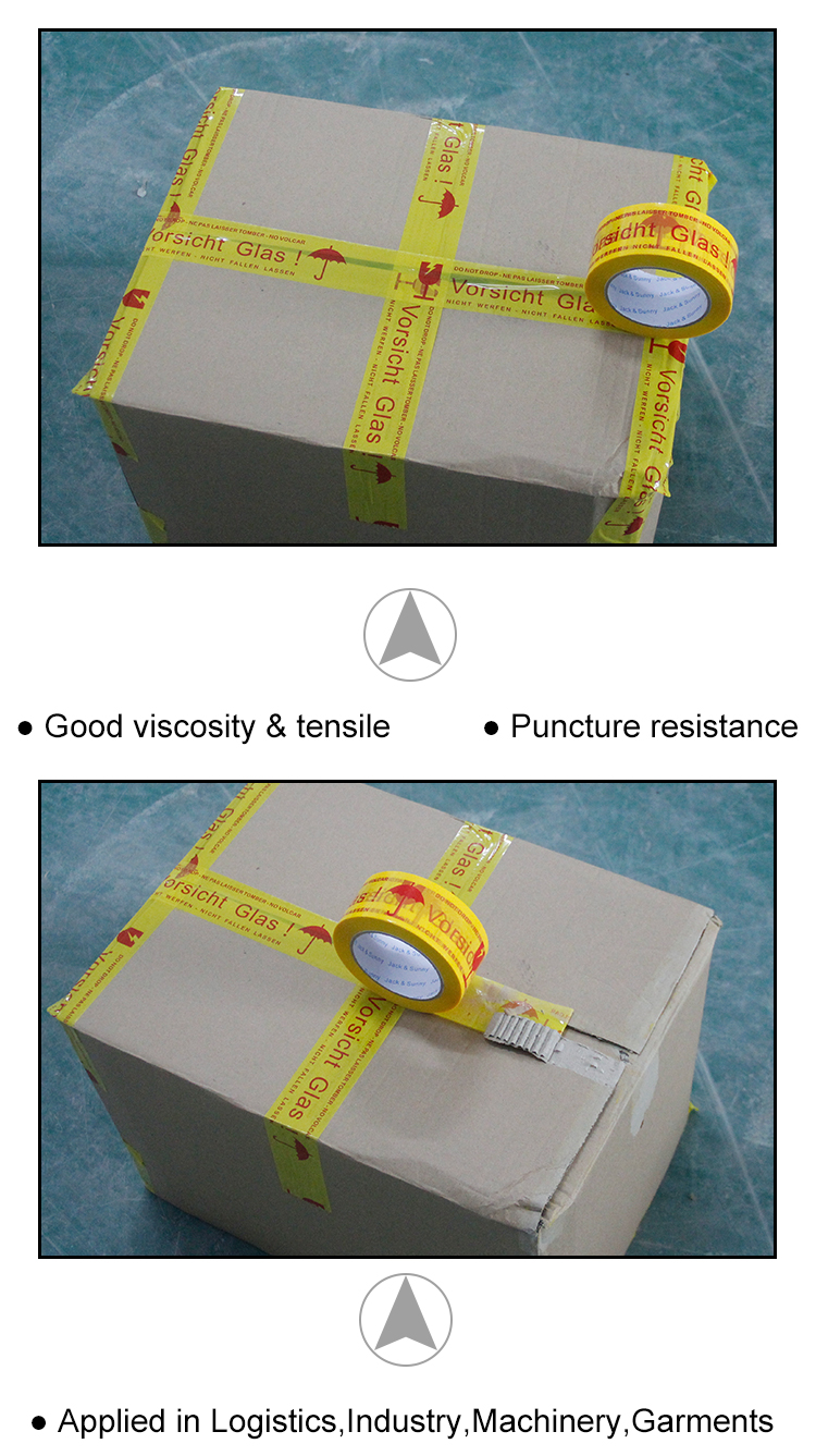 Electrical Underground Cable Detectable  Fragile Pvc/Pe/bopp Warning Tape