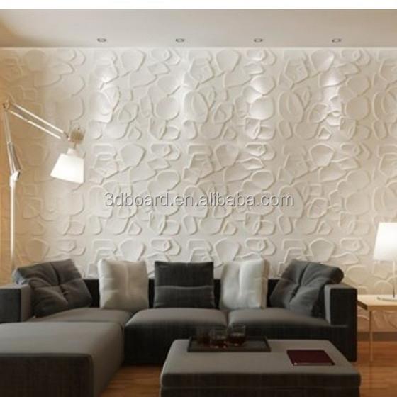 Fibra di bamb pannello decorativo effetto moderna 3d for Carta da parati 3d mattoni