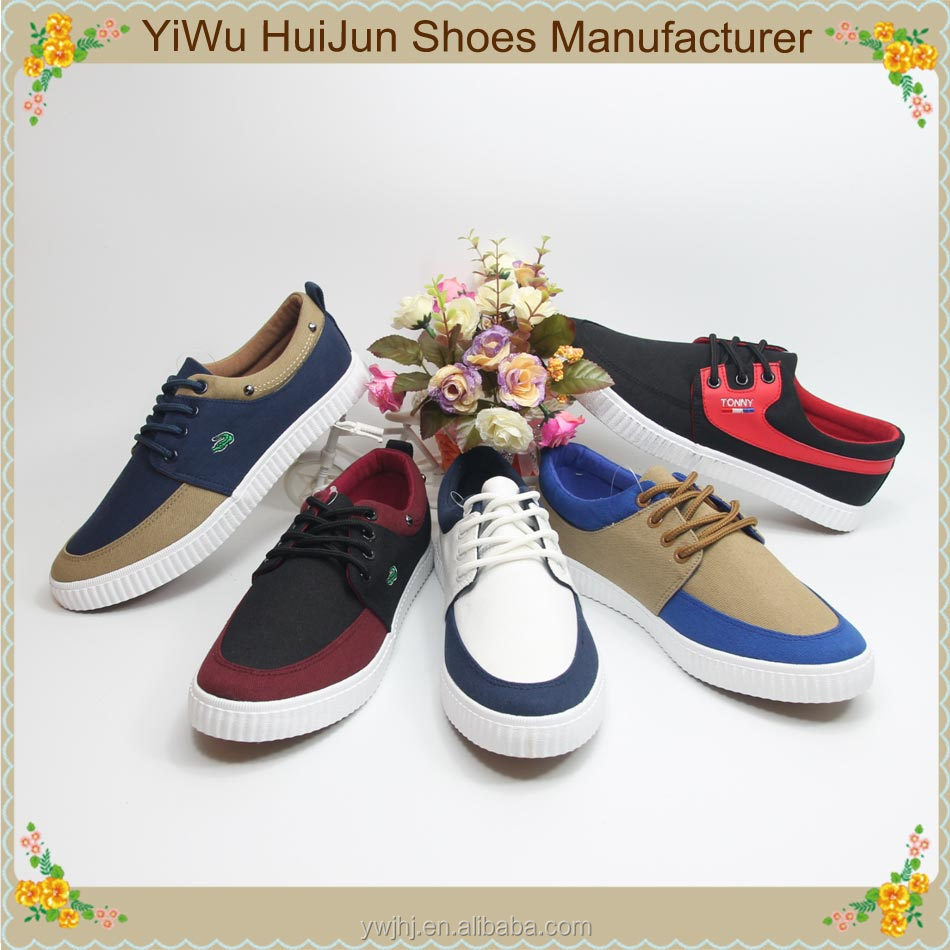 China supplier fashion sports sneakers white canvas casual shoes for men