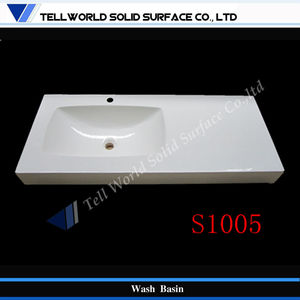 Cream white undercounter kitchen sinks White
