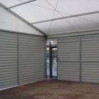 Aluminum Frame Sandwich Panel Wall Big Storage Tent In China