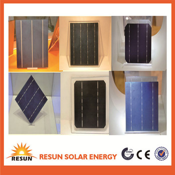 A grade certified solar cells for panel mono/poly crystalline 156mm solar cell