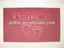 The Latest Fashion Dog Paw Print Logo Door Mat For Wholesale