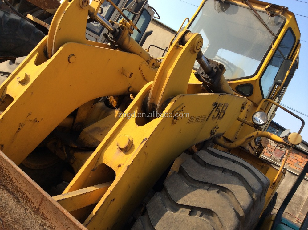 Japan made TCM 75B 850 870 front loader used condition TCM Michigan 75B 85z 90z wa500 wa380 wheel loader