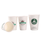 wholesale custom printed reusable double wall corrugated hot drink paper coffee cup 8 oz 12 oz