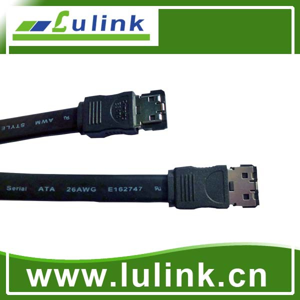 7-pin Straight Sata Data Hard Drive Cable/SATA cable