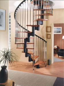 Galvanized Steel Indoor Modern Staircase Designs