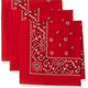 Cotton Square Scarf Paisley Bandanas Men's Scarves Casual Wear Neck Scarf Cover Headband