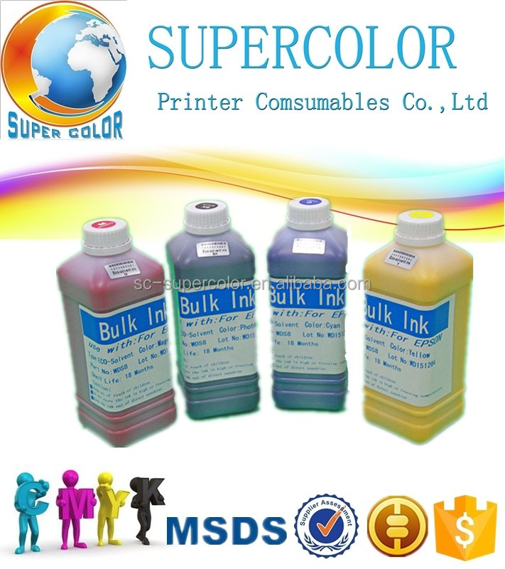 special ink for Epson GS6000 oil based eco solvent ink