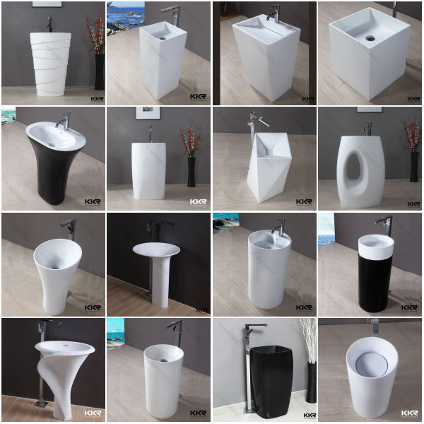 Sanitary Ware Products Free Standing Bathroom Modern Sinks