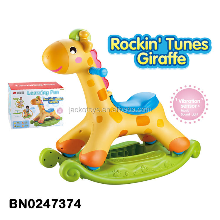 New Baby Toy Giraffe Rocking Chair Scooter With Music Light Shaking   Buy  Baby Toy Scooter,Baby Rocking Chair,New Baby Toy Product On Alibaba.com