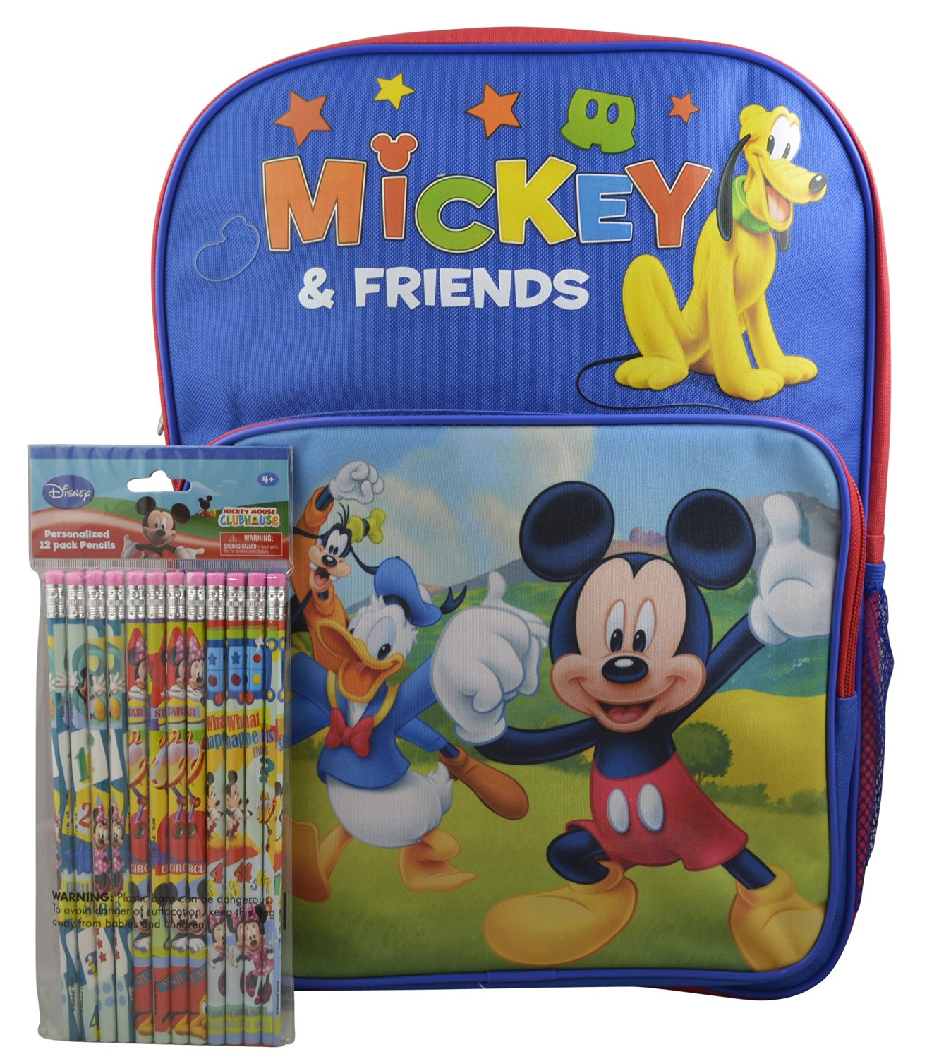 e9a6c6cd610 Get Quotations · Disney Mickey Mouse and Friends Boys  16