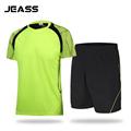 JEASS Men Football Jersey Custom Design Soccer Jersey Set Football Uniforms Kit for Running Training Tracksuit